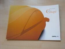 52829) Opel Astra Coupe Prospekt 08/1999
