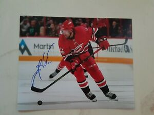 Justin Williams Signed Autographed Carolina Hurricanes 8x10 Photo
