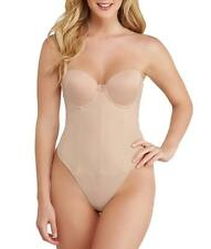 Va Bien NUDE Smooth Strapless Backless Thong Bodysuit, US 36E