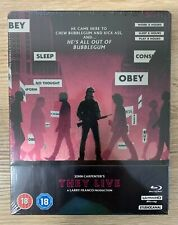THEY LIVE 4K UHD UK Steelbook Limited Edition Blu-Ray NEW & SEALED