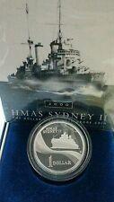 Willie: Australia 1 dollar Silver proof 2000(HMAS Sydney II)