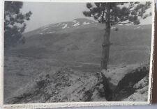 Lot de 34 Photos Italie ETNA Stromboli Taormina Vers 1950