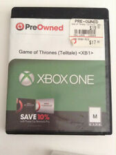 XBOX One Game Of Thrones Telltale
