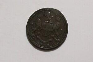 MALAYSIA, Penang, East India Company: Copper CENT 1810 SCARCE B35 #Z7068