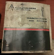 Allis-Chalmers Operating and Maintenance Manual for Form LT-421