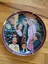 It's A Wonderful Life Collector Plate Bradford Exchange An Angel Gets His Wings