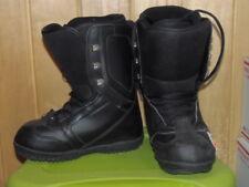 ROSSIGNOL - WOMEN - Snowboard Boots - BLACK  - SIZE 6   (BB-1099)