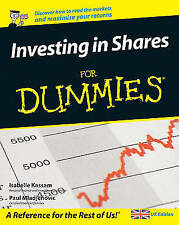 Investing in Shares For Dummies by Paul Mladjenovic, Isabelle Kassam (Paperback)