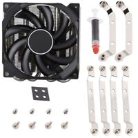 for ID-COOLING IS-30 Ultra-Slient Fan 92mm CPU Cooling Radiator for AMD AM4 BS