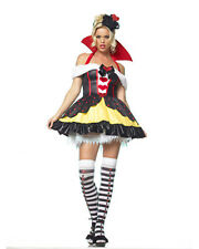 Morris Costumes Women's Sexy Storybook Queen Of Hearts 3 Piece Medium. UA83336MD