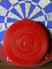 Vintage Original WHAM-O FRISBEE 1966 Red