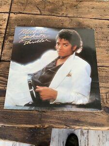 Michael Jackson Thriller GF Vinyl Lp & 80's Soul Funk A1/B5 UK 1st Pressing READ