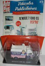 HACHETTE N°58 TOUR DE FRANCE RENAULT 1000 KG ASPRO 1/43 IN BOX + FASCICULE