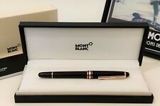 More details for montblanc meisterstuck fountain pen gold 4810 & gift box mont blanc