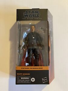 IN HAND Hasbro The Black Series Star Wars The Mandalorian MOFF GIDEON *damaged*