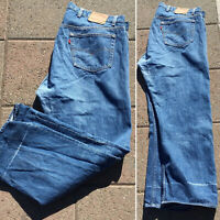 Vintage Levi's Button Fly 501 Jeans Measure 43 X 30 Made In USA