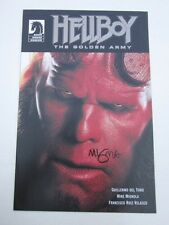 Hellboy The Golden Army Promo Comic Signed Mike Mignola VF/NM Condition