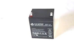 9 Batería 12V 5Ah para Sabo 43-4 EA Turbostar / Wolf: Scooter Mini, scooter