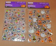 Halloween Pop Up Stickers By Creatology 3+ 2 Different Sheets Monsters Bats 44Q