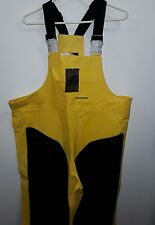 Lacrosse Waterproof Foreman Bib Yellow Black Extremely Durable Size L NEW