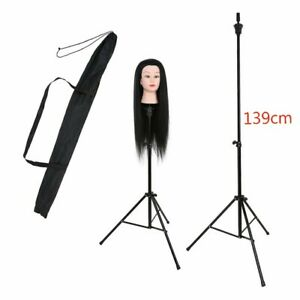 Adjustable Wig Head Stand Training Mannequin Head Holder Hairdressing Clamp UK