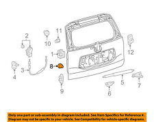 Toyota OEM Lock Assembly Packing Stopper 67282-0R010 Factory Sold Individually