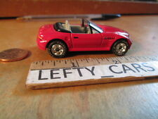 MATCHBOX RED 1996 BMW Z3 SCALE 1/57 (THAILAND BASE)RUBBER TIRES - LOOSE! NO BOX!