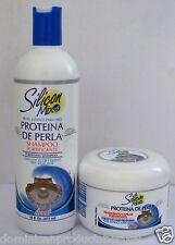 silicon mix perla 8 oz hair treatment + shampoo 16 oz combo