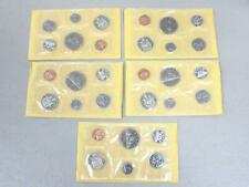 1969 ROYAL CANADIAN MINT UNCIRCULATED COIN SETS (SET OF 5 IN THE ORIGINAL BOX)
