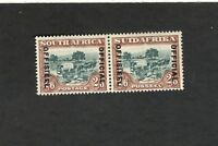 South Africa SCOTT #O20c Pair Official MH stamp Overprint Spaced 21mm