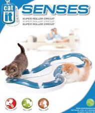 Catit Design Senses Super Roller Circuit Toy for Cat Cats Game Illuminated Ball