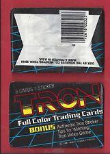 1982 Donruss Tron single Wax Pack