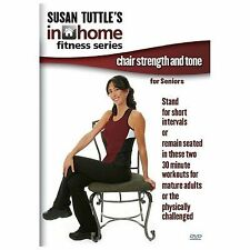 Susan Tuttle's Home Fitness Chair Strength and Tone For Seniors 03/11/2014 DVD