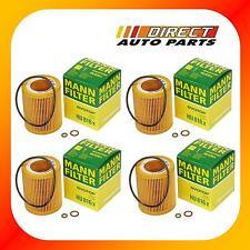 4Pack OEM BMW Oil Filter Mann-Filter HU816x