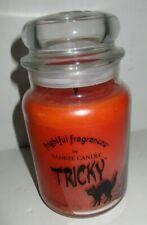 Yankee Candle Halloween Frightful Fragrances Tricky Retired Scent 22 oz Jar