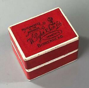 Antique Boxed Silver & Steel Thimble By Charles Horner Dorcas Size 7 A70017