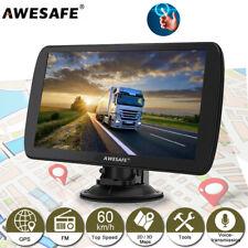 "Awesafe 9"" GPS Navigation for Lorry Car SAT NAV FREE Europe 3D MAPS UK Shipment"