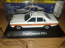 Ford Granada MK1 Avon & Somerset  Police Atlas Editions Car Model  1:43 Scale