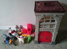Job Lot Vintage 1980s Ghostbusters Toy Collection, Fire House, Cars, Figures +++