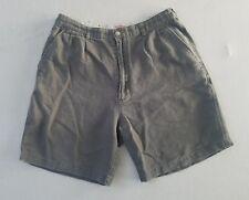Vintage Bugle Boy Company Men's Size 32 Gray Corduroy Shorts HA