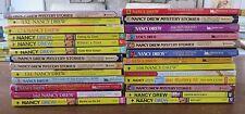 Lot 23 Nancy Drew Chapter books 57 59 60 63 64 97 110 112 134 162 168 174