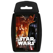 Top Trumps Star Wars Episodes 4 IV - 6 VI NEW