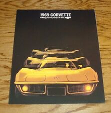 1969 Chevrolet Corvette Sales Brochure 69 Chevy Coupe Stingray