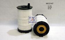 WESFIL OIL FILTER FOR Audi A8 4.2L V8 FSi 2010 09/10-04/13 WCO147