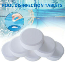 50X Chlorine Tablets Multifunction Small Swimming Pool Tub Spa Disinfection Nice
