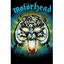 MotorHead Overkill Poster Flag Fabric Textile Wall Banner Offcl Metal Band Merch