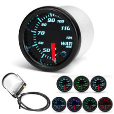 "2"" 52mm LED Car Water Coolant Temperature Analog Temp Gauge Meter Universal 12V"