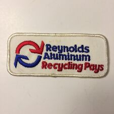 Reynolds Aluminum Recycling Pays Patch