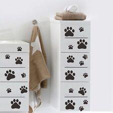 DIY 22 Dog Cat Paw Print Decors Car Wall Sticker Home Wheelie Bin Decal DT4C