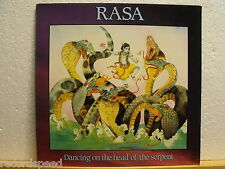 "★★ 12"" LP - RASA - Dancing On The Head Of The Serpent - OIS (Lyrics) - Lotus Eye"